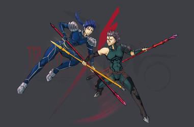 Cross Lances by Vlastika