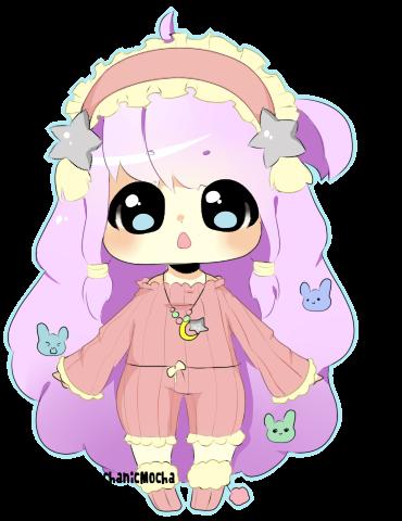 Custom adoptable for my brat sister~ by MechanicMocha