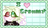 I love Creamy ! (stamp) by Yumi-PPG