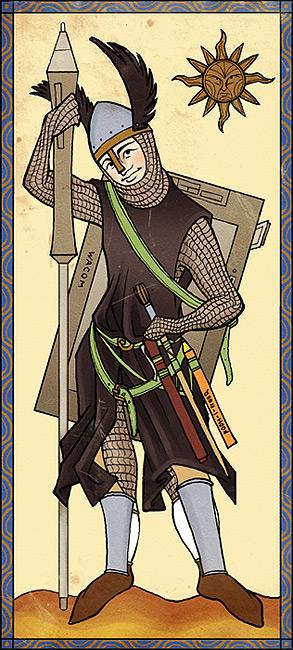 cg warrior by Katerinich