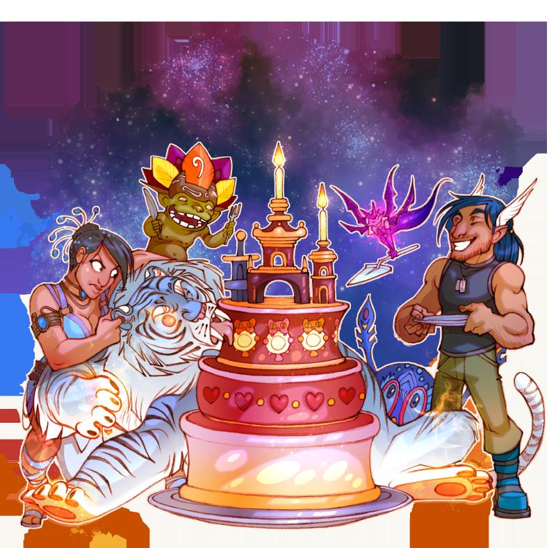 Поздравление главу клана с днем рождения