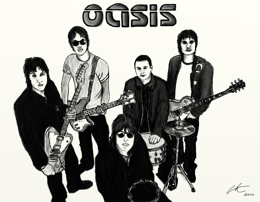 Oasis sketch by CrashEndburn  Oasis Band