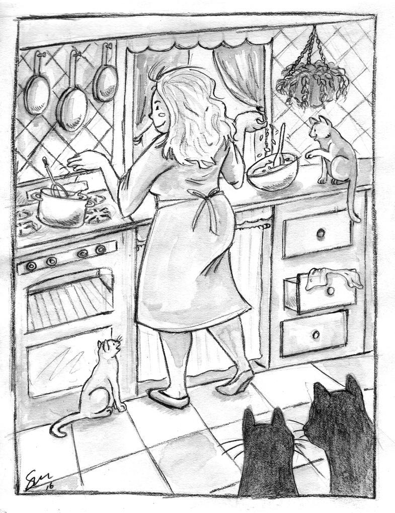 kitchen witchlildogartstudio on deviantart