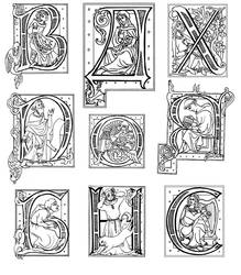 Letters design by DappleHack