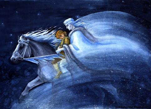 Bjarni rides North