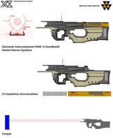 Decimal International MSR-3 Handheld Metal Storm by Master-Gecko-117
