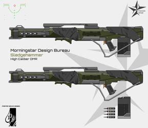 Morningstar Design Bureau Sledgehammer DMR by Master-Gecko-117