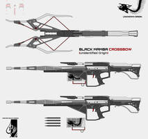 Black Mamba Crossbow (Unknown Origin) by Master-Gecko-117