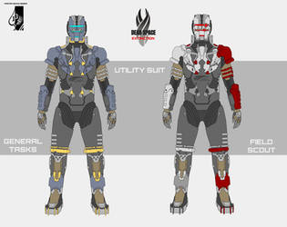 Dead Space Extinction Utility Suit by Master-Gecko-117