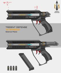 Trident Defense Shadow Pistol by Master-Gecko-117
