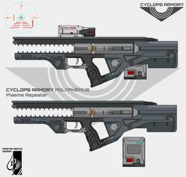 Cyclops Armory Polyphemus Plasma Repeater