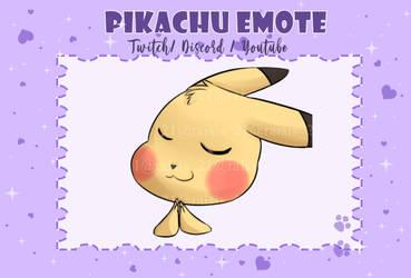 Pikachu bless emote
