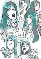 Siren Song Sandpie doodle by UmmuDopt