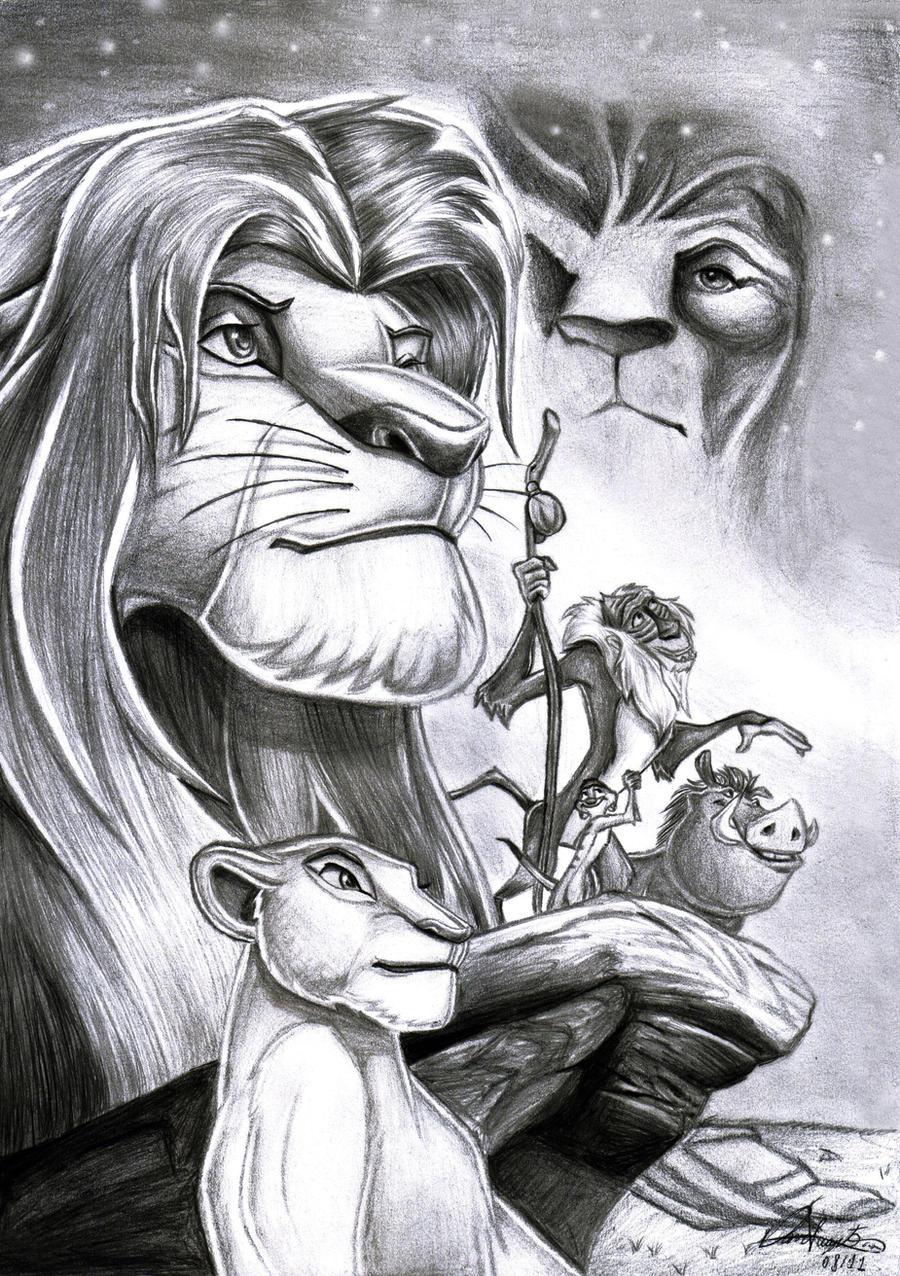 The Lion King by Daviskingdom on DeviantArt