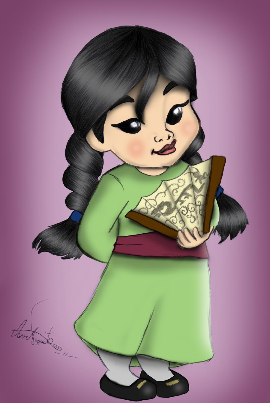 Little Mulan by Daviskingdom