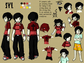 Syl character design by KannyL