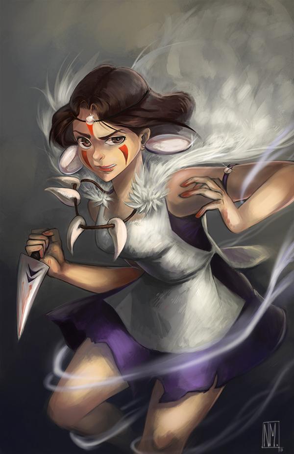 Mononoke Hime by Kinopia