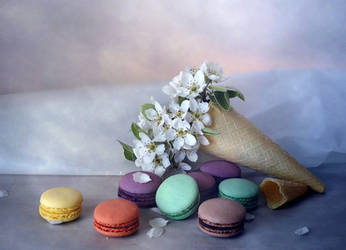 Ice cream pear by Luciuuu