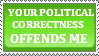 political correctness stamp by princessshiny