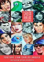 Carlos Anguis Ilustraciones on youtube