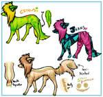Scenedog adoptables No. 3 by EdibleAdoptables