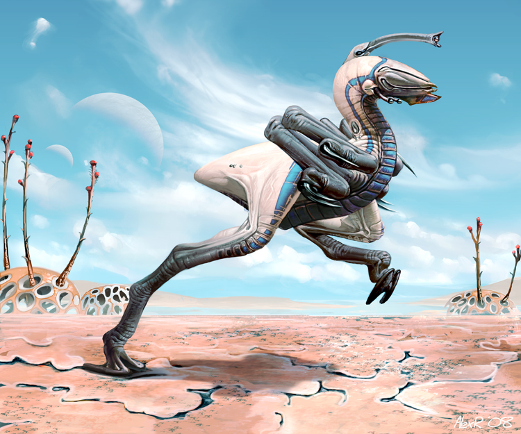 Pseudoraptor by Abiogenisis