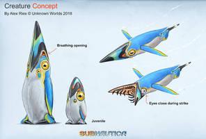 Subnautica DLC Creature by Abiogenisis