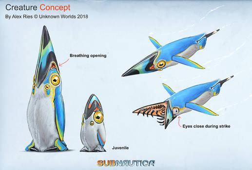 Subnautica DLC Creature