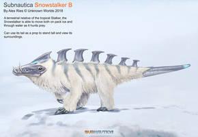 Snowstalker B by Abiogenisis
