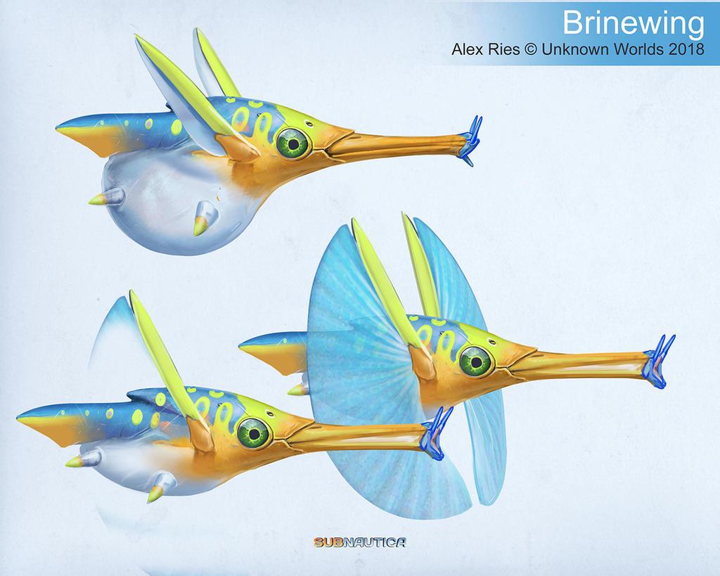 Subnautica: Below Zero - 'Brinewing' by Abiogenisis