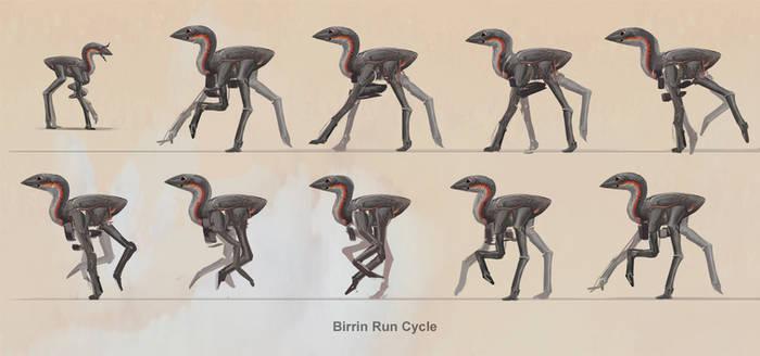 Birrin - Run Cycle