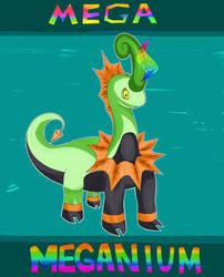 MEGA Meganium by Axouldier
