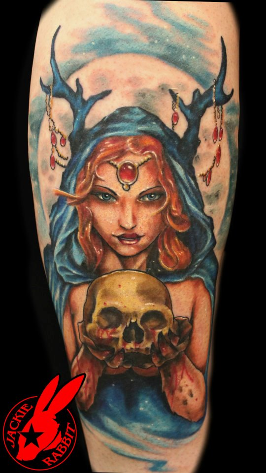 Evil Fairy Queen Tattoo by Jackie Rabbit by jackierabbit12 ...