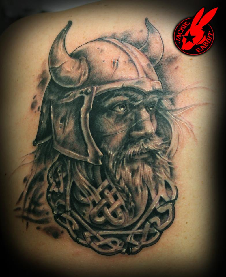 viking keltic knot tattoo by jackie rabbit by. Black Bedroom Furniture Sets. Home Design Ideas