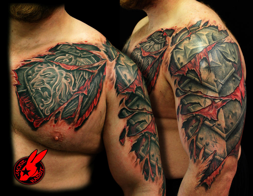 Breastplate Of Righteousness Tattoo