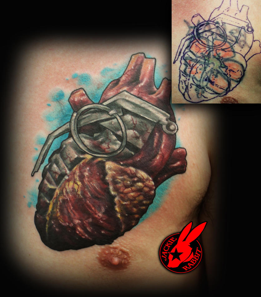 heart grenade cover up tattoo by jackie rabbit by jackierabbit12 on deviantart. Black Bedroom Furniture Sets. Home Design Ideas