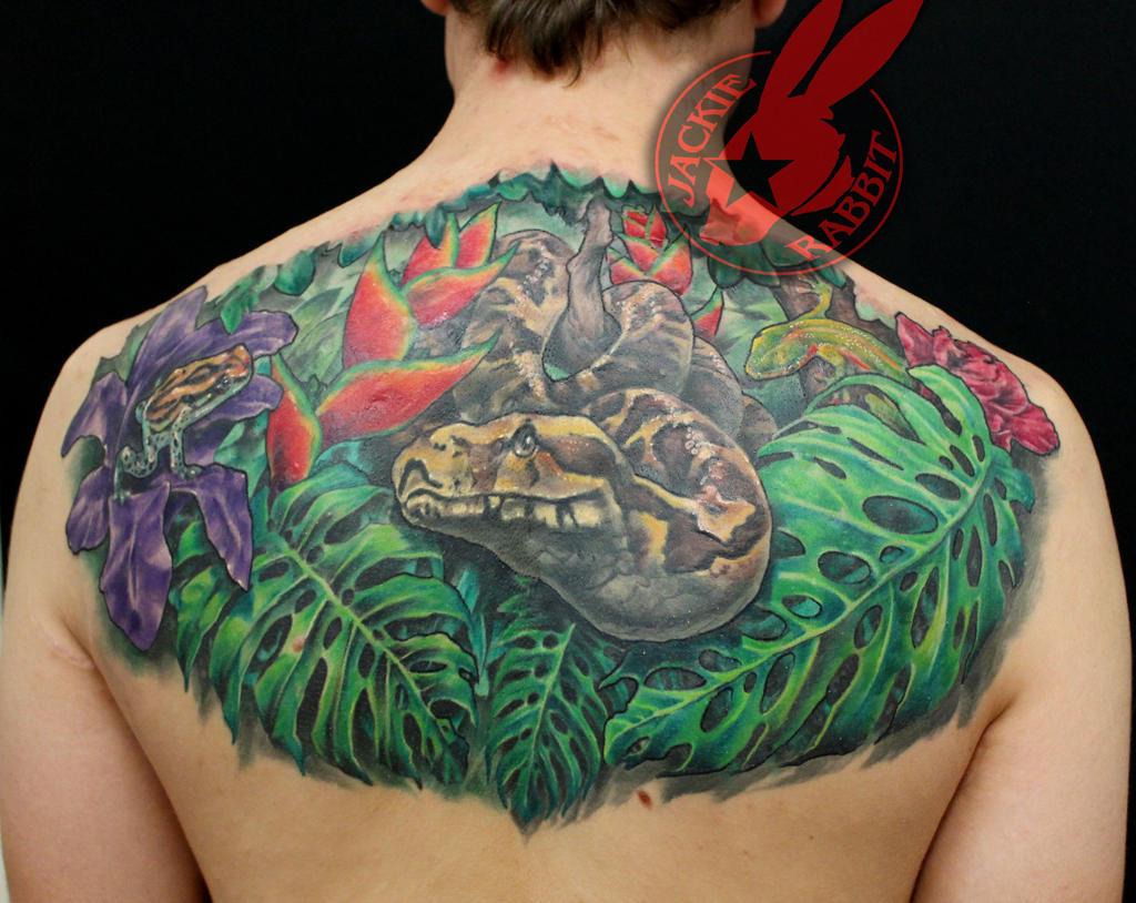 Realistic Tree Greek Patern tattoo Jackie Rabbit by jackierabbit12 ...