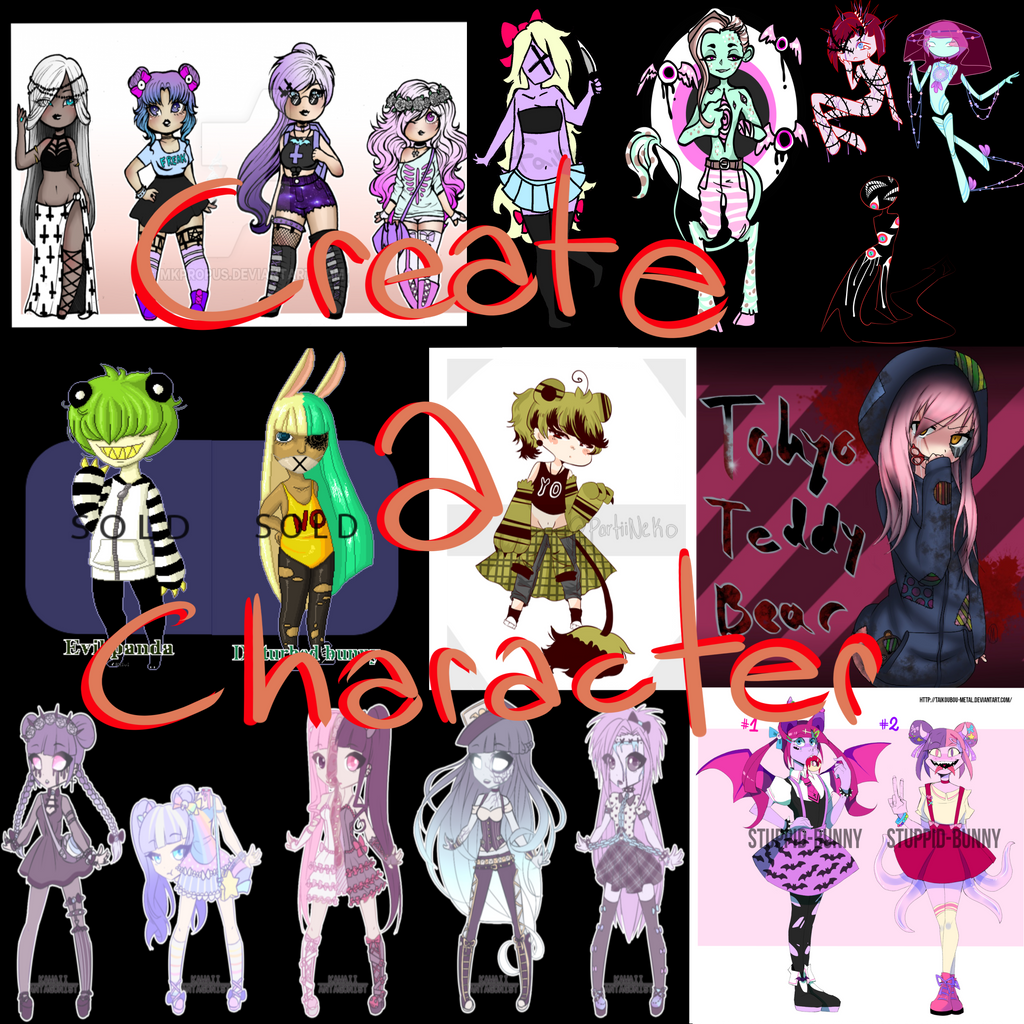 Character Design Contest 2016 : Character design competition by annobethal on deviantart