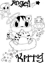 Angel Kitty by KIMIKONYO
