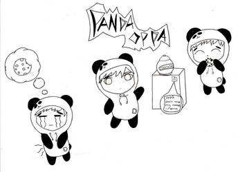 Panda Oppa by KIMIKONYO
