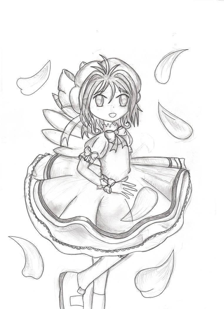 Card Captor Sakura by KIMIKONYO