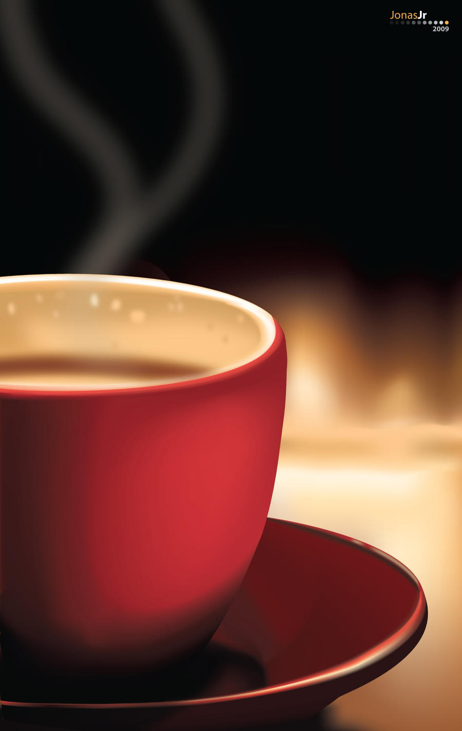 some coffe