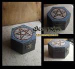 Pentagram Wood Box