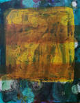 watercolour, acrylic on canvas (30*40)