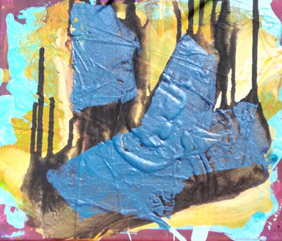 Acrylic on canvas 20 x 20