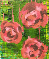 Acrylic on canvas a3 size