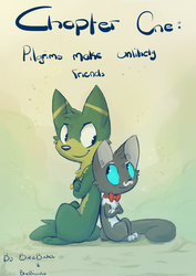 Chapter one: pilgrims make unlikely friends by Bluebiscuits