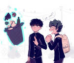 mp100 and bnha crossover