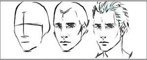 How to Draw a Head by scrambleddots