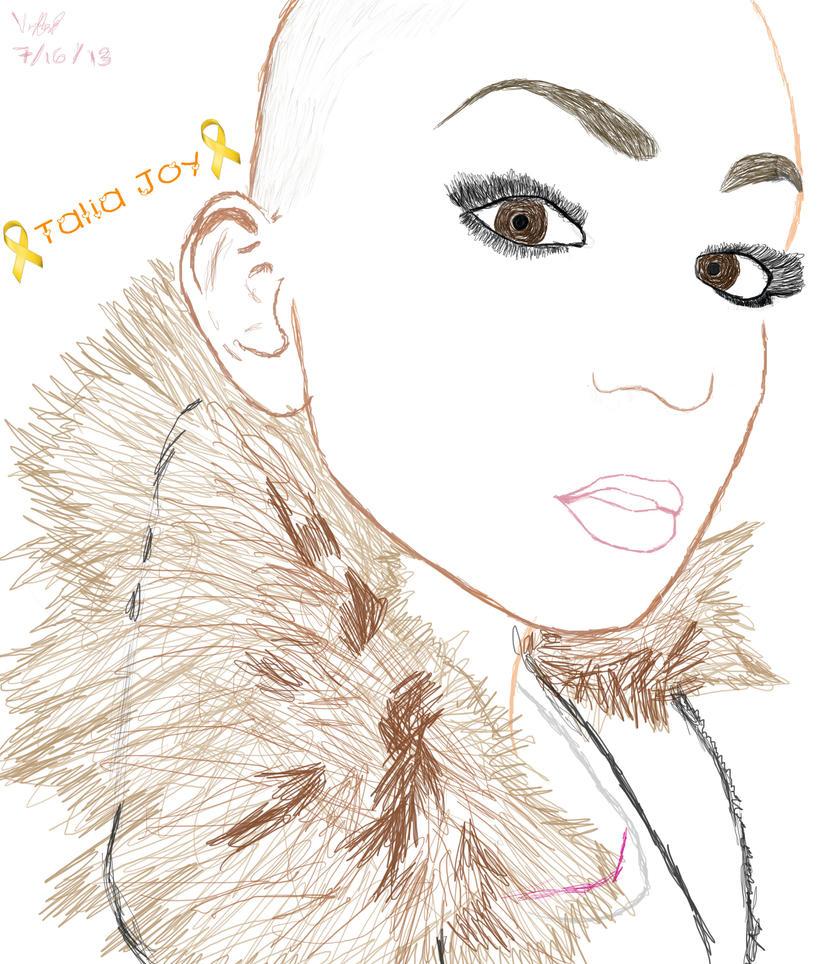 RIP Talia Joy by V-Dogg